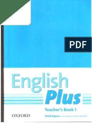 teachers english plus book 1