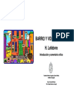 Desarrollo Urbano - 3.d. Barrio y Vida de Barrio