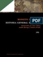 Lafuente Modesto - Historia General de España - Tomo III