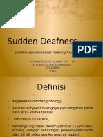 Sudden Deaffnes