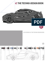 Alfa Romeo 4c the Techno-Design Book
