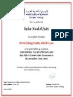 rasha alzaabi getting started with bb learn