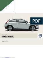 Manual Volvo c30 PT