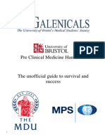 Guide to Preclinical Medicine