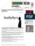 Pagan Casi 1 Millón de Euros Por Célebre Poema de Mallarmé — La Jornada