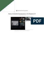 Node Rapberry Pi - Book -Embedded-Development