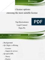 Qt License Options Choosing the Most Suitable License Qt_license_options_FINAL_20121114