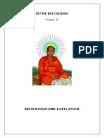 Divine Discourses Vol - 11