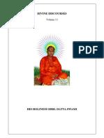 Divine Discourses Vol -13