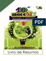Livro de Resumos X Mostra Acadêmica Científica e Cultural em Ciências Biológicas - MACCBio 2015