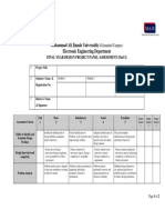 -MAJU-Final Year Project Evaluation Rubrics-Part I