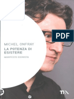 Onfray, Michel - La Potenza Di Esistere. Manifesto Edonista [ITA Scan Tea 2011]