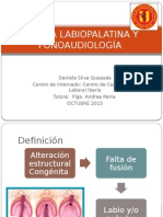 Fisura Labipalatina y Fonoaudiología