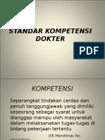 MD 4. STANDAR KOMPETENSI DOKTER.ppt