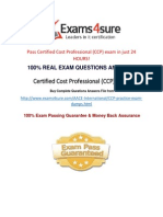 Certified Cost Professional Exam Dumps