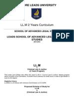 LLM Scheme of Studies New