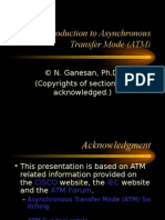 Introduction to ATM and ATM Networks