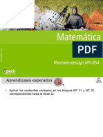 Clase 27 Revisión Ensayo MT-054 2014