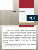 Efek Toksik
