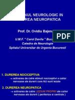 Durerea Neuropatica Ex. Neurologic