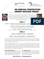 PSR Maine- Military and Medical Nuclear Threat Event