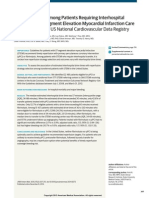 Fibrinolysis Use Among Patients Requiring Interhospital Transfer for ST-Segment Elevation Myocardial Infarction Care A Report From the US National Cardiovascular Data Registry