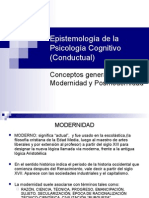 1-.Epistemología de La Psicología Cognitivo-Conductual