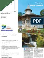 """Oferta """"Catalogul Pensiunilor din Romania"""" editia 2015-2016"""