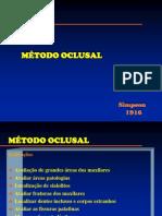 MÉTODO OCLUSAL unesp.pdf