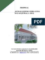 Contoh Proposal Gedung Serba Guna