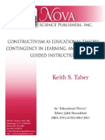 constructivism as educational theory taber ks