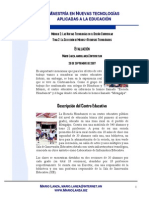 Modelo TIC Centro Educativo