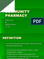 Community Pharmacy l1-l4