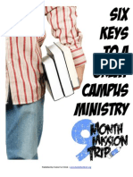 leading an effective campus ministry 4 0