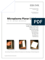 Microplasma Planar Lighting-By Eden Park Illumination