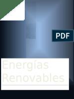 Energías Renovables (ALGUNOS TIPOS)