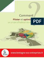 Guide Bretagne Eco-Entreprises - Comment Piloter Et Optimiser Un Projet Dhabitat Durable