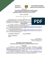 П Р И К А З 166 Recomandari RUS