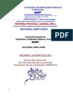 1 2015 ANEP JOVEN Informe Sistematizacion Del Primer Encuentro