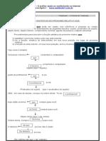 Funçõess Sintáticas do pronome relativo QUE