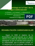 Rol Del Kinesiologoa en La Fase 1 de La CCV