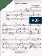 Webern - Cello Sonata (1914)