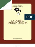 La guerra empieza en Cuba