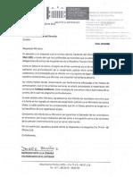 Carta a MinJustica   Continuamos trabajando por los presos en condiciones inhumanas en el exterior, con el   Representante Jorge Muñoz