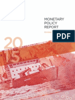 Monetary Policy Report October 2015