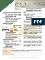Temario CURSO Certificación Energética de Edificios Existentes. Procedimiento CE3X