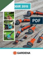 Catalogue GARDENA 2015