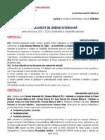 Regulament de Ordin Interioară ROI 2015 2016 Modificat 23022015