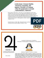 Raccolta Base Giovani Balilla Completa Del Pinguino, Picchio e Il Zampa Con Oltre 50 Quadranti e Circuiti Radioestesici
