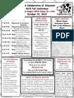 HIPAA Conference Brochure October 2015 Brochure FINAL